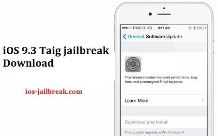Taig 9.3 jailbreak