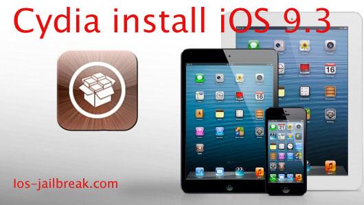 Cydia install iOS 9.3