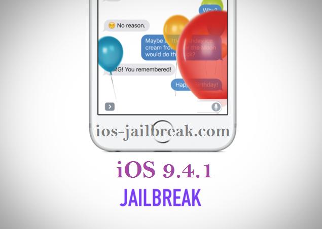 iOS 9.4.1 jailbreak