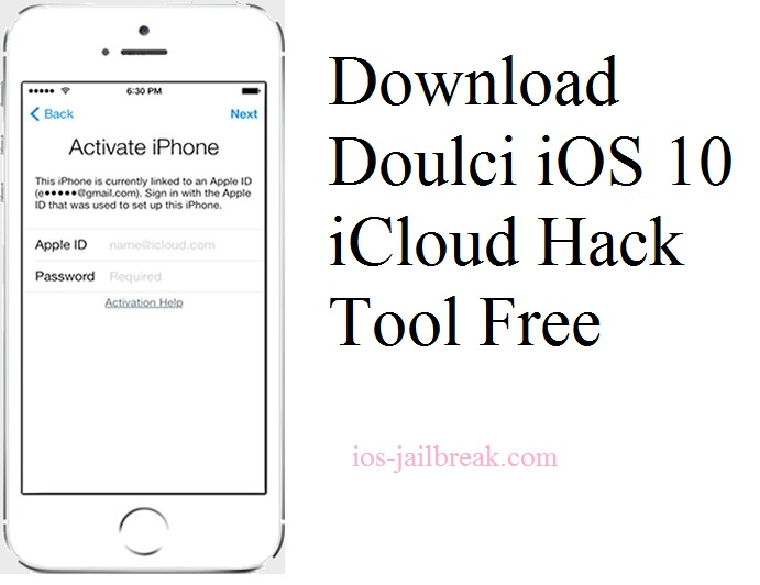 Doulci iOS 10 iCloud Hack Tool
