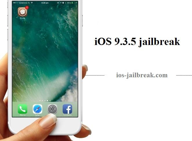 PanGu Hack iOS 9.3.4 jailbreak