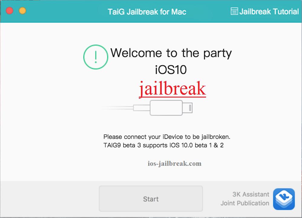 Jailbreak iOS 10.0