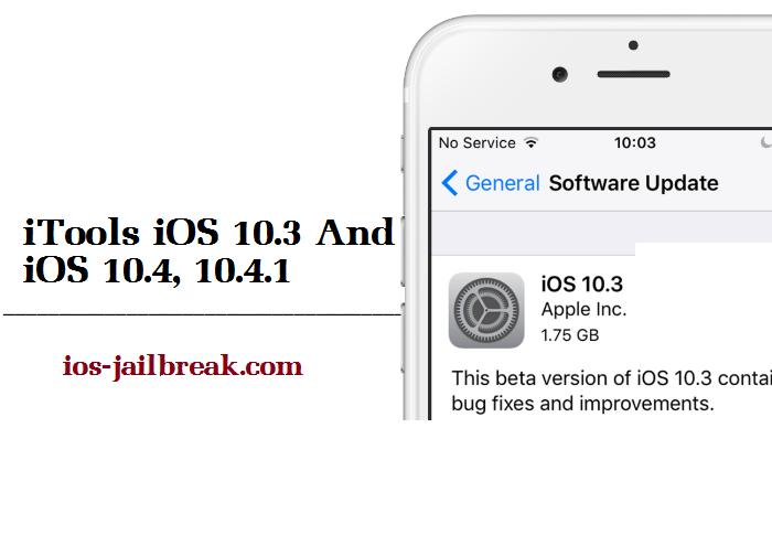 iOS 10.3 iTools