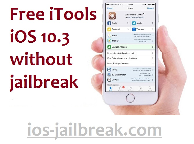 Without jailbreak Download iTools iOS 10.3