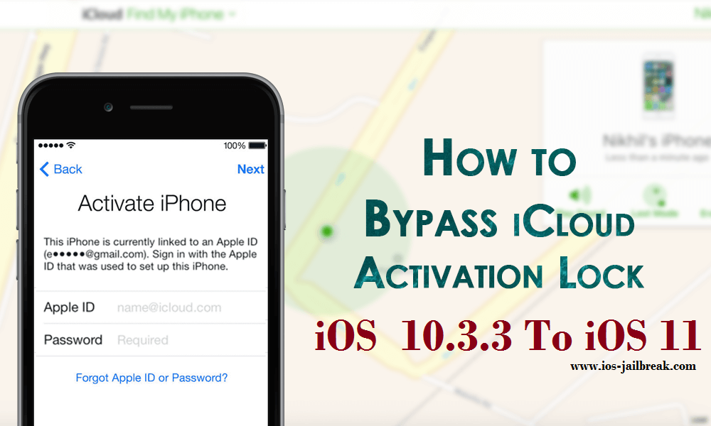 Bypass iOS 11 iCloud Activation Lock