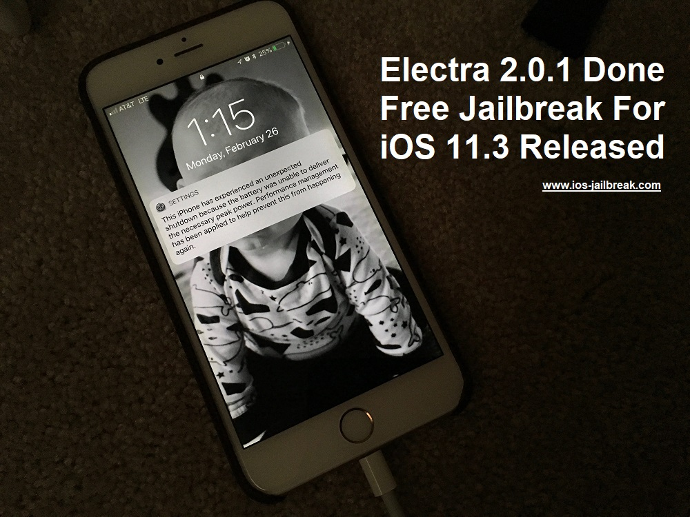 Free Jailbreak For iOS 11.3