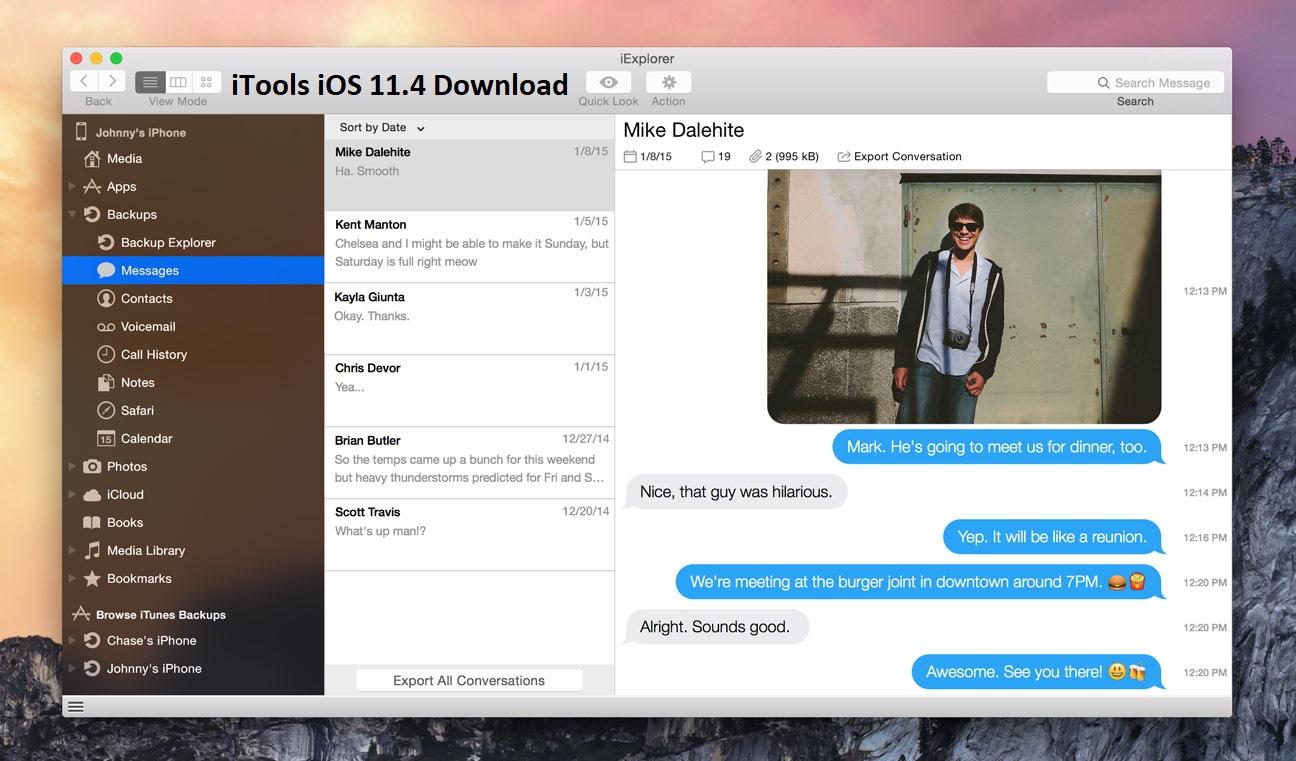 iTools iOS 11.4