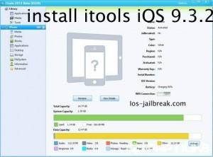 install itools iOS 9.3.2