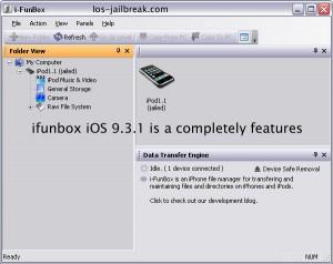 ifunbox iOS 9.3.1