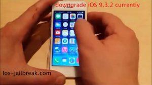 downgrade iOS 9.3.2