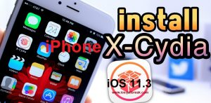 Cydia iOS 11.3 iPhone X