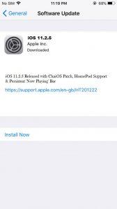 iOS 11.2.5 ipsw jailbreak