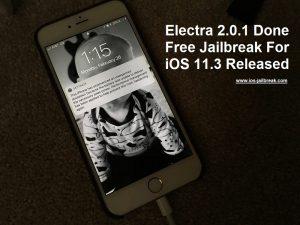 Free Jailbreak For iOS 11.3