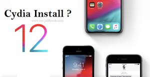 iOS 12 Cydia Install
