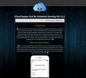 How to Bypass iCloud Activation Lock iOS 12.2