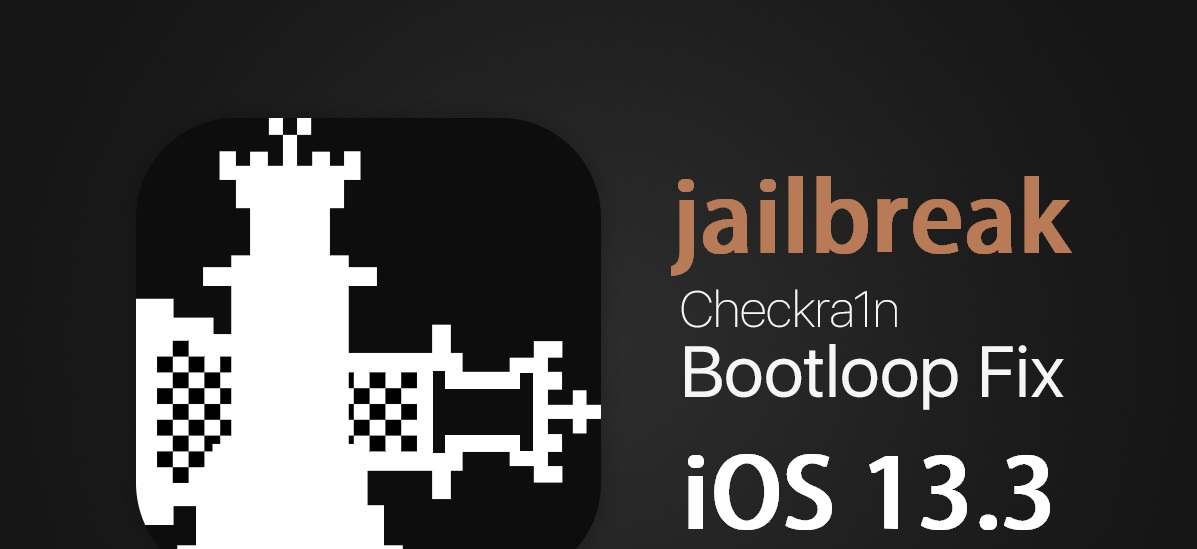 checkra1n iOS 13.3 jailbreak