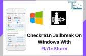 checkra1n jailbreak iOS 13.3.1