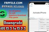 bypass iCloud iOS 13.3.1