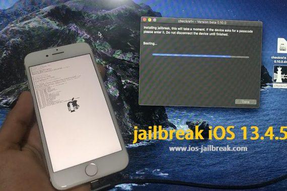 iOS 13.4.5 Beta jailbreak