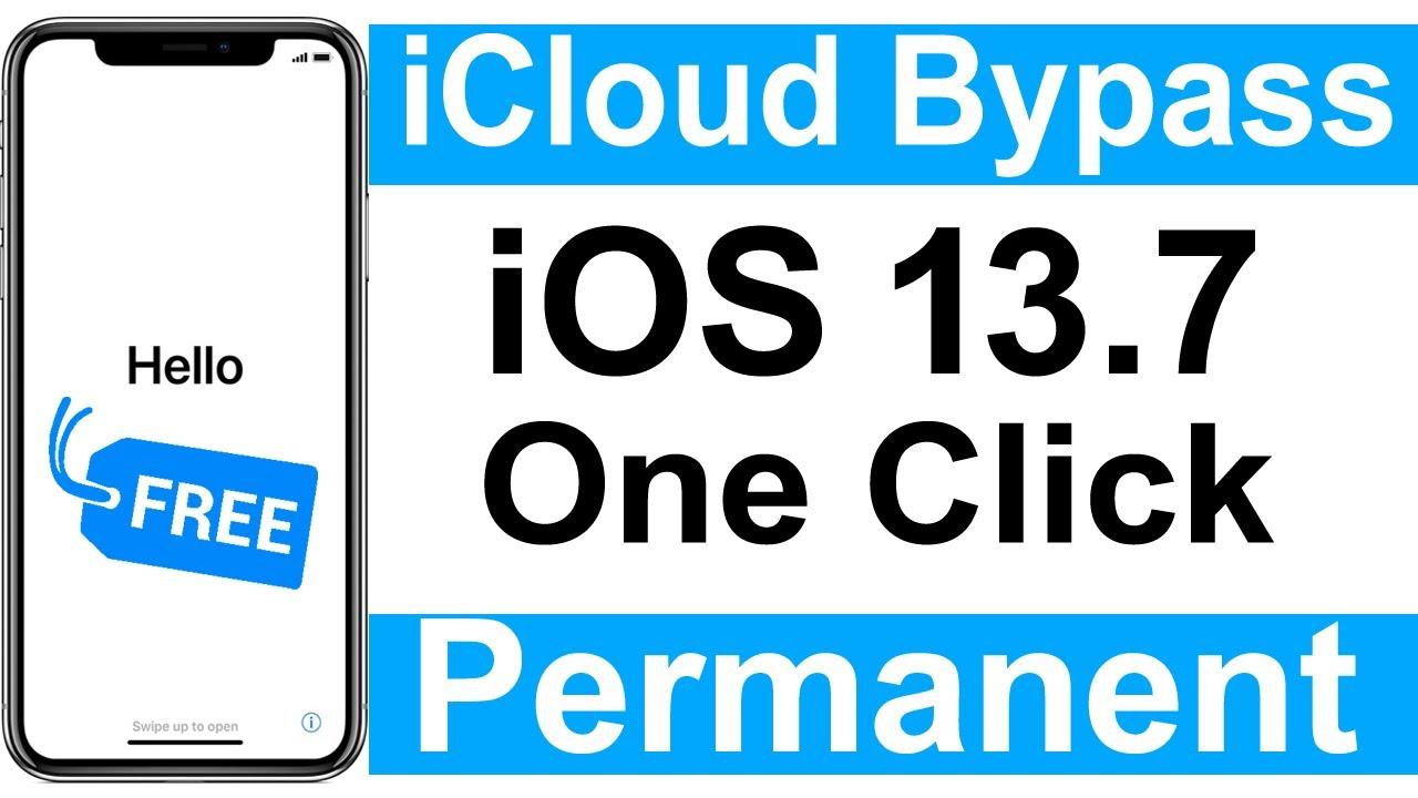 iCloud Bypass iOS 13.7