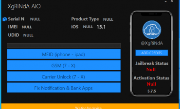 XgRiNdA Software iOS 15.1